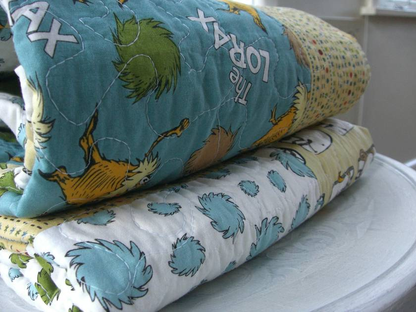 """'THE LORAX"""" Quilt"""