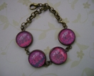 glass dome bracelet