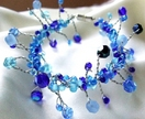 'Blues' Twist Bracelet