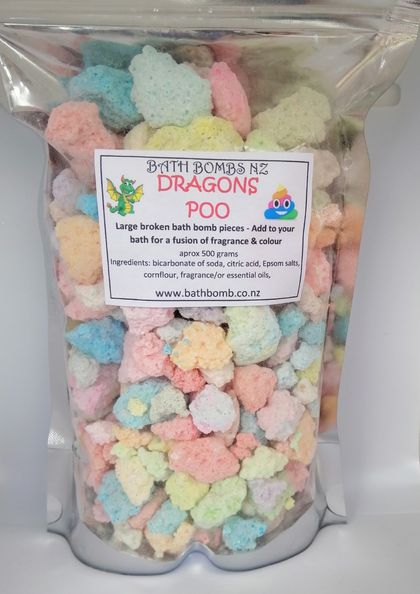 Dragons Poo Bath Bombs