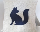 Cushion {Fox Applique}