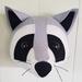 Felt Raccoon Head