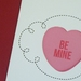 Be mine sweetie greeting card