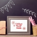 Celebrate all the little things Art Print - decorate your home for Christmas