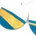 Tinkerbell Blue Artistic Clay Earrings
