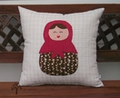 'Russian Doll' Cushion Cover