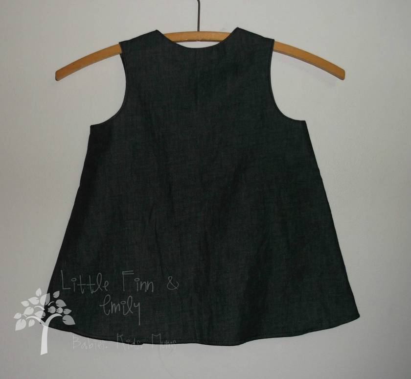 'Tres Chic' Dress Forms Pinafore. Size 12-18 months