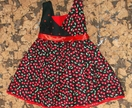 Esther Party Dress 'Cherry-Licious'   Size 4