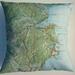 NZ Map Cushion Cover - Kaiteri/Abel Tasman