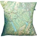 NZ Map Cushion Cover - Nelson Lakes