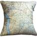 NZ Map Cushion Cover - Queenstown