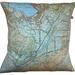 NZ Map Cushion Cover - Wanaka