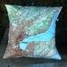 NZ Map Cushion Cover - Dunedin