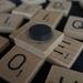 Scrabble tile magnets
