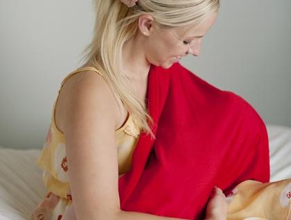 Super soft merino wrap