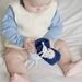 Crocheted Sheepskin  Baby Booties
