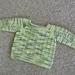 Textured Raglan Baby Sweater