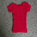 Little Red Baby Vest