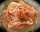 Newborn Baby Girl Headband With Handmade Silk Flower