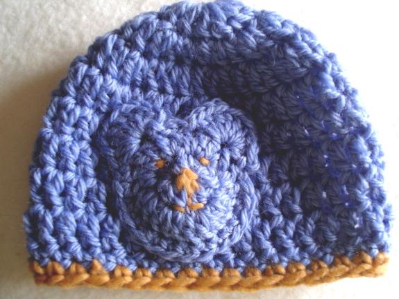 Baby Boy Easy Crochet Blanket Patterns : Crochet baby hat pdf pattern easy crochet baby boy girl ...