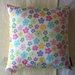 Cute Colourful Flower Cushion Cover