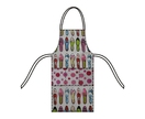 EASY PEASY APRON - DIY kit in shoes and spots fabric