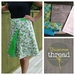 WRAP IT TWO WAYS - Wrap skirt pattern kit in Bluegrass fabric