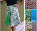 WRAP IT TWO WAYS - Wrap skirt pattern kit