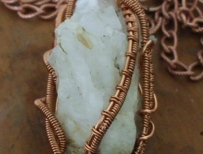 Natural Quartz Crystal Cluster Wrap