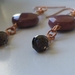 Mookaite and Smokey Quartz Earrings