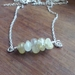 Golden Rutilated Quartz Necklace