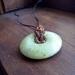 Gemstone donut, Quartz, layering necklace, boho necklace