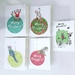Individual Christmas Card - 26 designs to choose from!