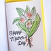 Handmade and painted Mother's Day Cards - Flowers