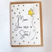 Handmade and painted Mother's Day Cards - Star