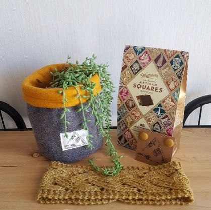 Mellow Grellow - Upcycled Anything Basket