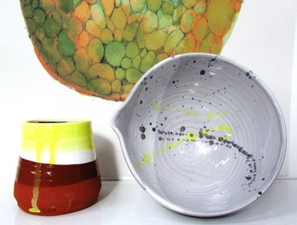 Paint Spout Bowl