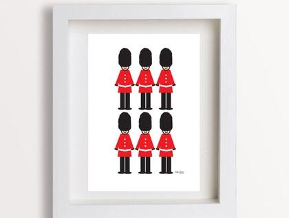 London Guard Print