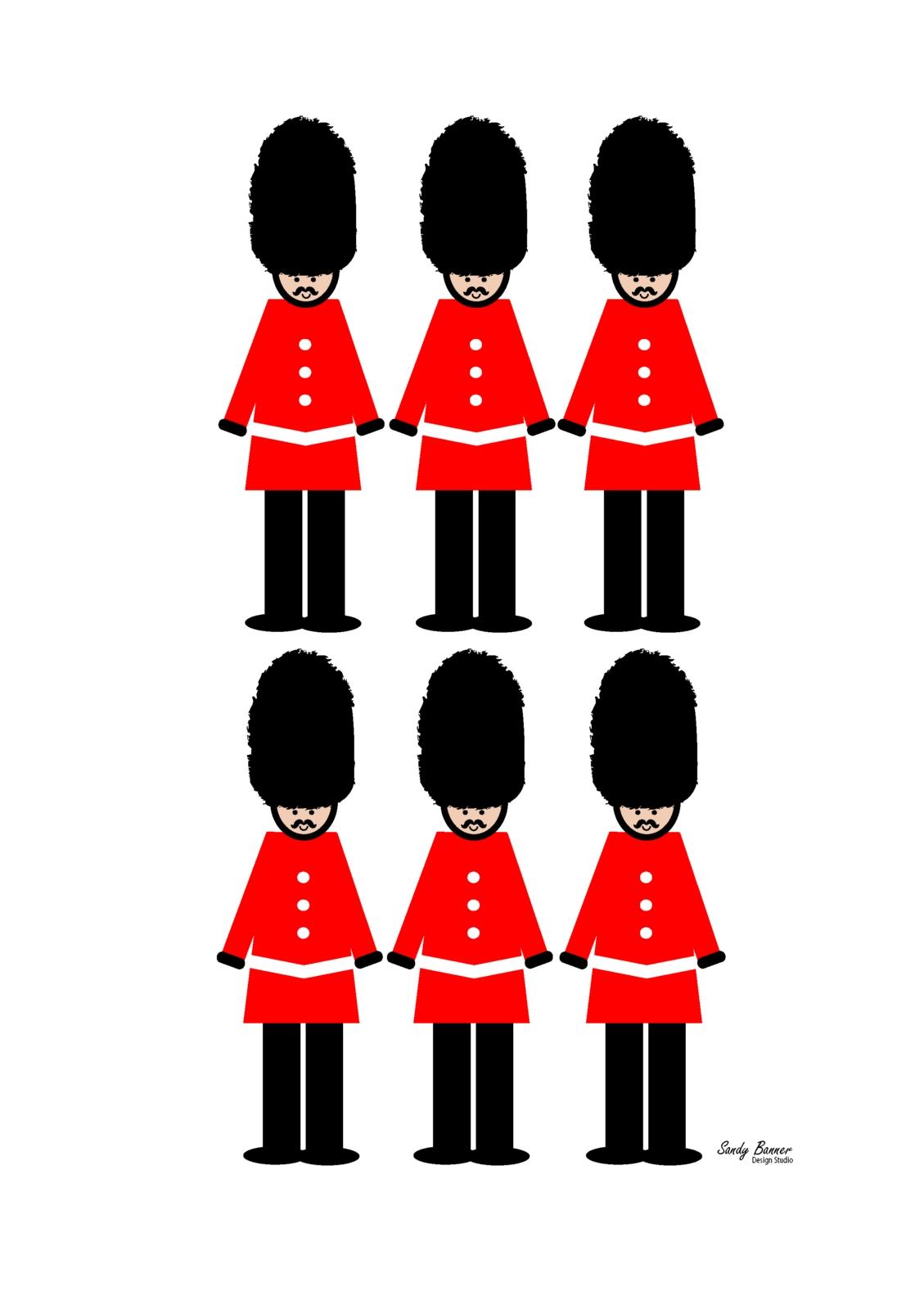 London Guard Print | Felt