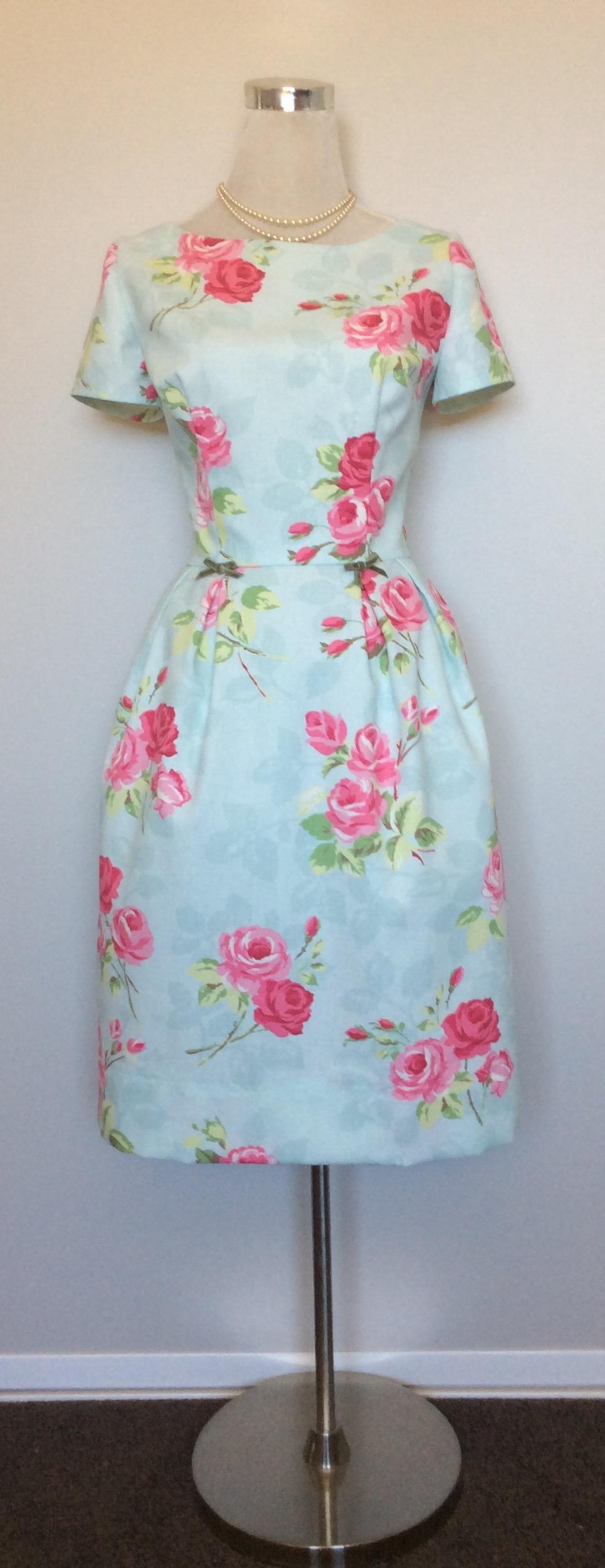 Nancy-Vintage Inspired-1950s Dress-Sample-Made in New Zealand ...