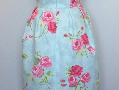 Nancy-Vintage Inspired-1950s Dress-Sample-Made in New Zealand-Wedding-Garden Party-Bridesmaid-Graduation