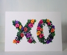 Floral XO Gift Card