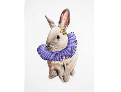 Little Jester A4 Digital Art Print