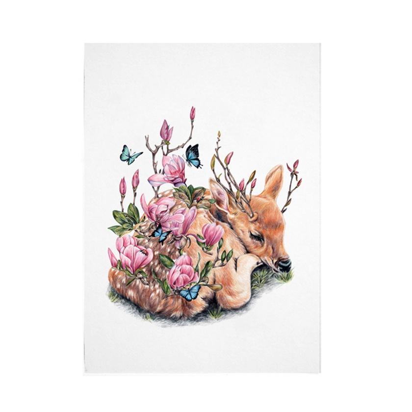 Slumber A4 Digital Art Print