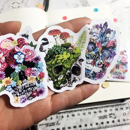 Vinyl Sticker Pack - Skulls