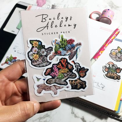 Vinyl MINI Sticker Pack - Shell Friends