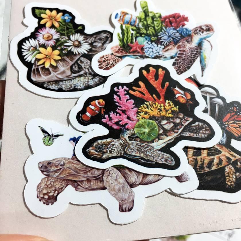 Vinyl MINI Sticker Pack - Shell Friends