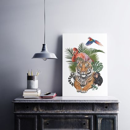 Animals Version 2 Art Print