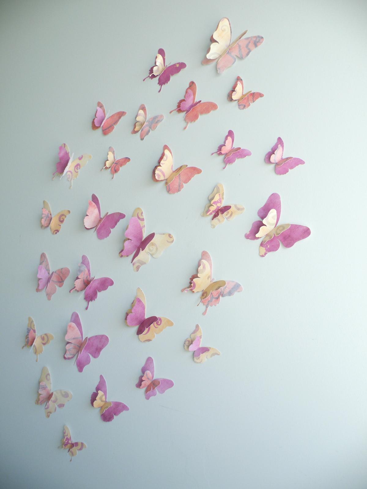 3d butterfly wall decor falloween set felt for 3d wall butterfly decoration