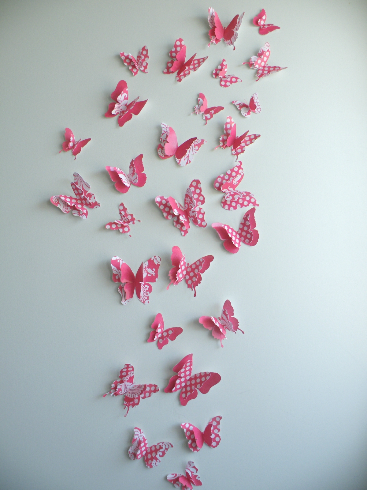 Hanging Butterfly Wall Decor : Butterfly wall decor